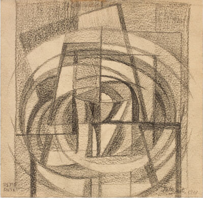 Emilio Pettoruti, 'Sin título', 1913
