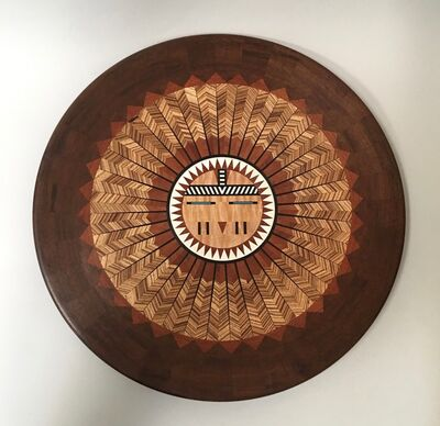 Ray Allen, 'Untitled Wall Platter', ca. 1995