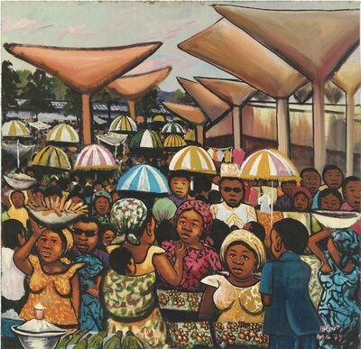Moke, 'Sans Titre (Scène de marché)', 1979