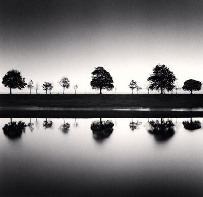 Michael Kenna, 'REFLECTING TREES, SAINT VALERY SUR SOMME, FRANCE, 2009', 2009