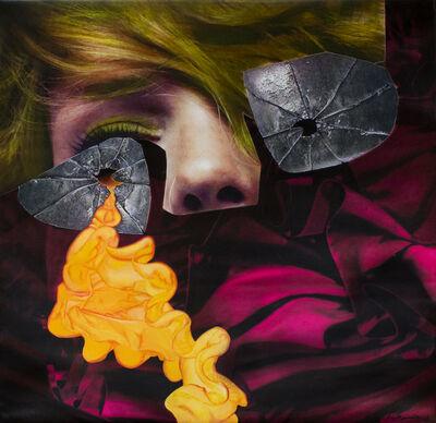 """ALDO MENÉNDEZ, 'Serie Retratos en Chino. """"La arruga Sicópata""""', 2008"""