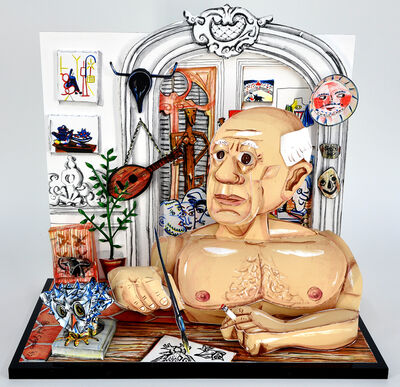 Red Grooms, 'Picasso', 1996-97
