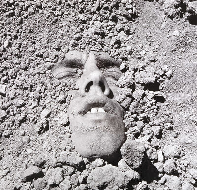 David Wojnarowicz, 'Untitled (Face in Dirt)', 1991/2018