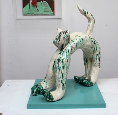 georgina starr, 'The Cat (Olga O)', 2013