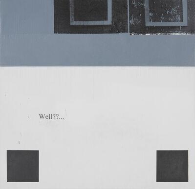 Julião Sarmento, 'Frames Grey Squares', 2013
