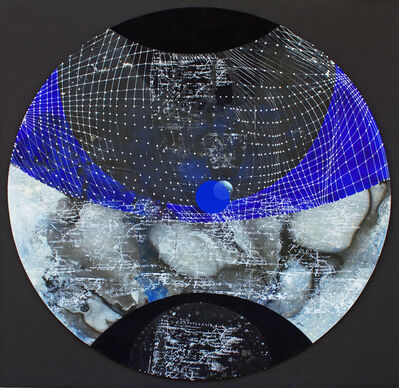 Joan Belmar, 'Cambalache: Round, Blue & Black (District #1)', 2017