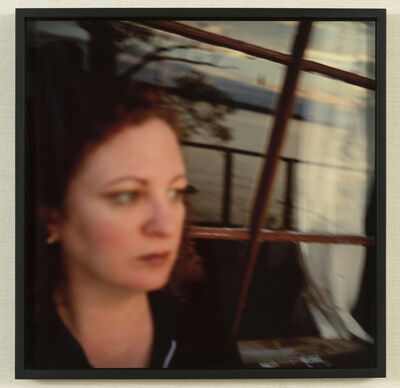 Nan Goldin, 'Self-portrait by the Lake, Showhegan Maine', 1996