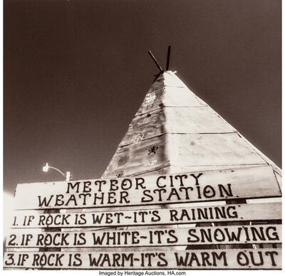 Edward Valfre, 'Untitled (Meteor City Weather Station)', 1997
