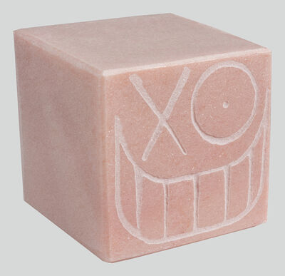 André Saraiva, 'Mr. A Pink Marble Cube 14 cm 2', 2018