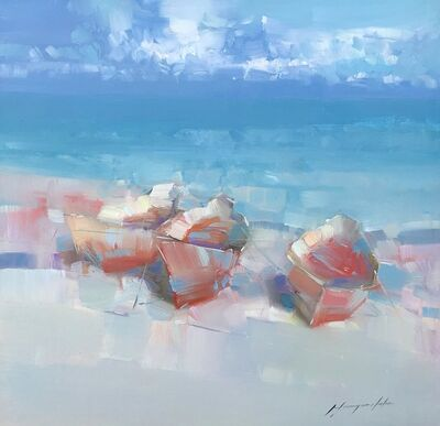 Vahe Yeremyan, 'Boats on the Shore', 2019