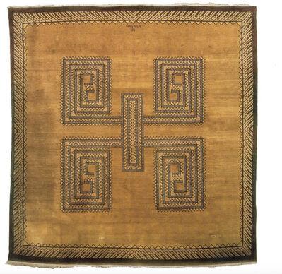 Ivan da Silva Bruhns, 'Ochre Wool Carpet', 1927