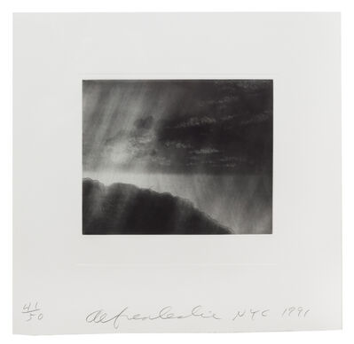 Alfred Leslie, 'Near David's Fields (portfolio of 2)', 1991