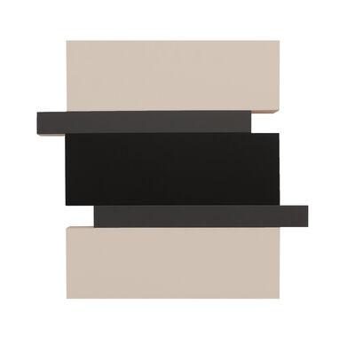 Scot Heywood, 'Stack - Canvas, Black, Gray', 2016