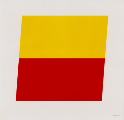 Ellsworth Kelly, 'Yellow/Red-Orange', 1970