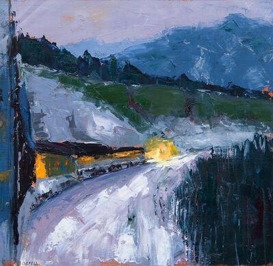 Kathleen Gefell, 'Train Lights', 2015