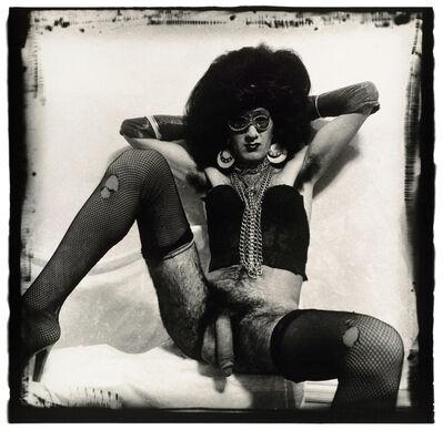 Joel-Peter Witkin, 'Australian Drag Queen', 1982