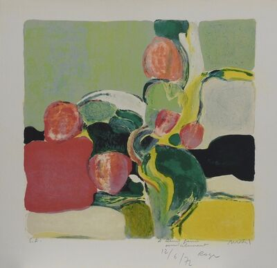 Roger Muhl, 'Abstract tulips', 1972