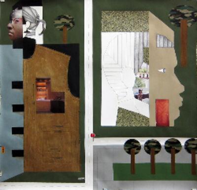 Derrick Adams, 'Community Empowerment zone', 2013