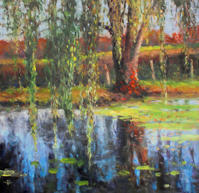 Thomas McNickle, 'WILLOW POND-SEPTEMBER', 2020
