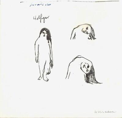 Klara Kristalova, 'sketch for bent', 2009