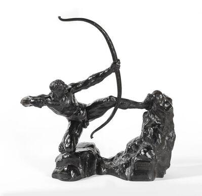 Emile-Antoine Bourdelle, 'Héraklès Archer, huitième étude - modèle intermédiaire définitif', ca. 1920