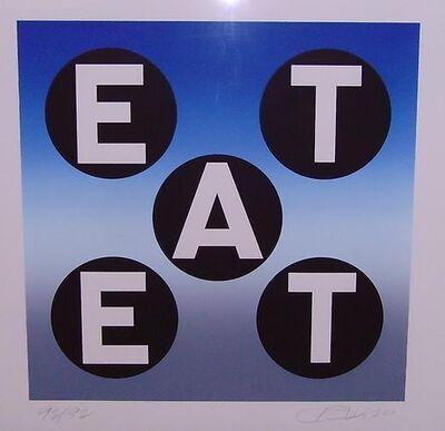 Robert Indiana, 'EAT', 2011