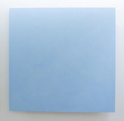 Ettore Spalletti, 'Muro, azzurro', 2016