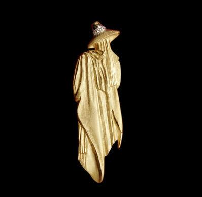 Leonora Carrington, 'Pendant Scare crow', ca. 2008