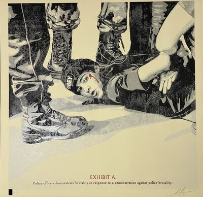 Shepard Fairey, 'The High Cost Of Free Speech Shepard Fairey Print Signed & Numbered Politics Street Art ', 2021
