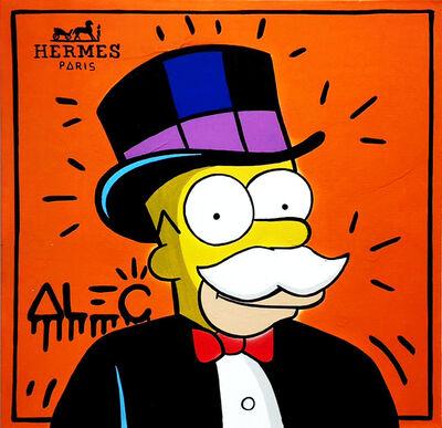 Alec Monopoly, 'Hermes Homer Simpson ', 2019