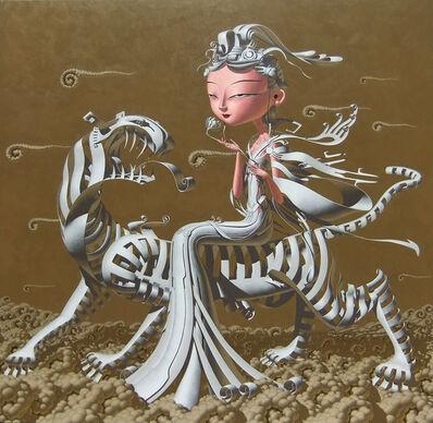 Deng Xinli, 'Immortal Nostalgia Tiger Fairy 神仙眷之虎仙', 2011