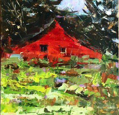 Sandra Pratt, 'Red Barn in Summer', 2020