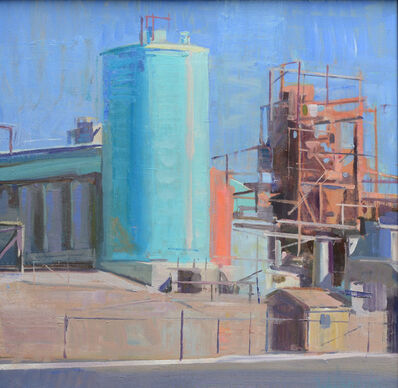 Kevin Weckbach, 'Turquoise Silo', 2013
