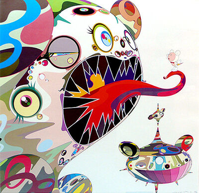 Takashi Murakami, 'Homage to Francis Bacon(Study of George Dyer) ', 2004