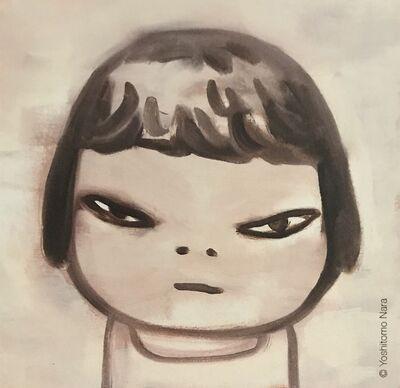 Yoshitomo Nara, 'Girl Banging On Drum Print Nara Yoshitomo Comes With Limited Edition Stickers Pop Art ', 2020