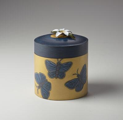 Marilyn da Silva, 'Sister Box: Silver-studded Blue Butterfly'
