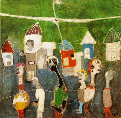"Joel Mpah Dooh, '""Crossing the road in an ideal city""', 2012"