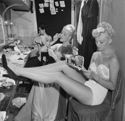 Slim Aarons, 'Backstage At La Scala', 1948