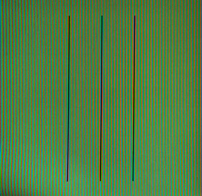 Carlos Cruz-Diez, 'Serie Semana - Sábado', 2013