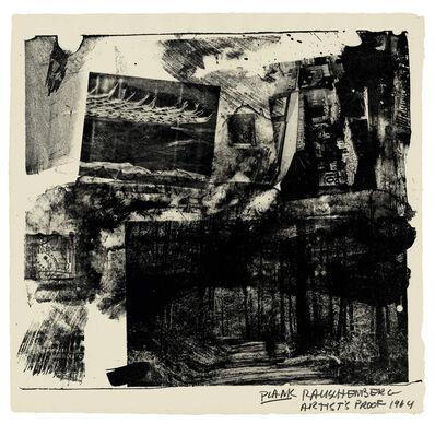 Robert Rauschenberg, 'Plank', 1964