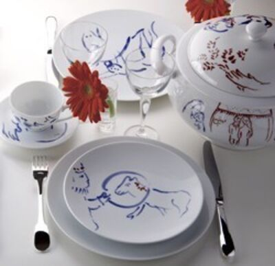 Marc Chagall, 'Pour Ida  - Table Service 69 pieces', 1952