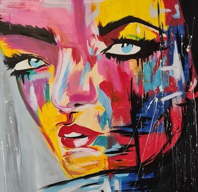 Daniela Zawada, 'Bombed In Colors', 2021