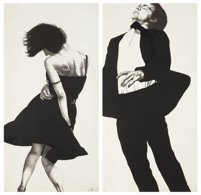 Robert Longo, 'Meryl and Jonathan, from Men in the Cities', 1988