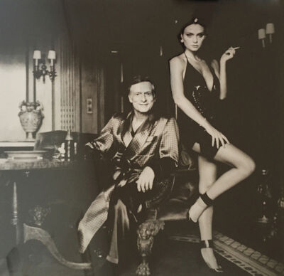 Helmut Newton, 'Hugh Hefner and Carrie Leigh, Beverly Hills, 1984', 1984