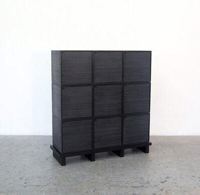 John Eric Byers, '9 Cubes Chest of Doors'