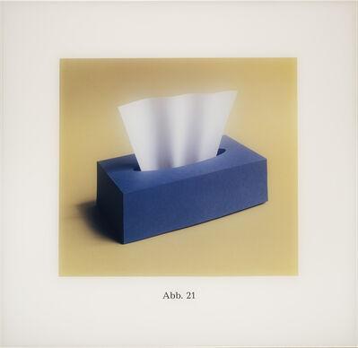 Thomas Demand, 'Boite de Kleenex (Abb. 21)', 1990