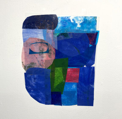 Michael Siporin Levine, 'Face Time (blue)', 2020