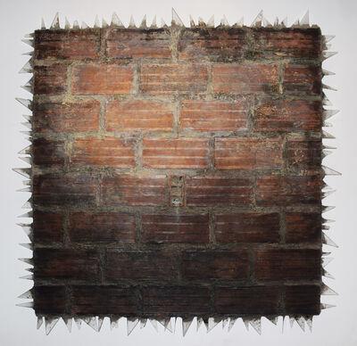 John J. Bedoya, 'Muro 1: Tierra y acrilico', 2010