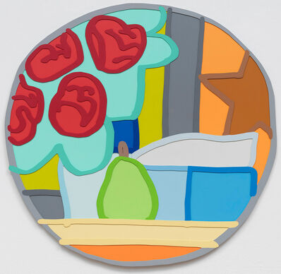 Tom Wesselmann, 'Still Life with Four Roses and Pear', 1963