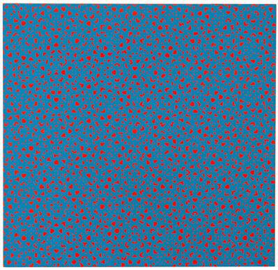 François Morellet, 'Tirets 0º 45º 90 135º', 1971
